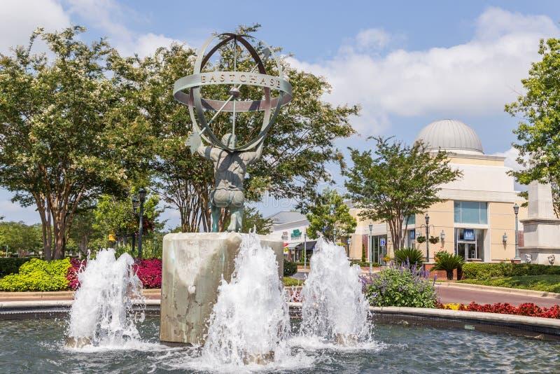 Разбивочный памятник площади на Shoppes восточной гоньбы стоковые изображения