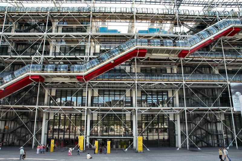 разбивочный pompidou стоковое фото