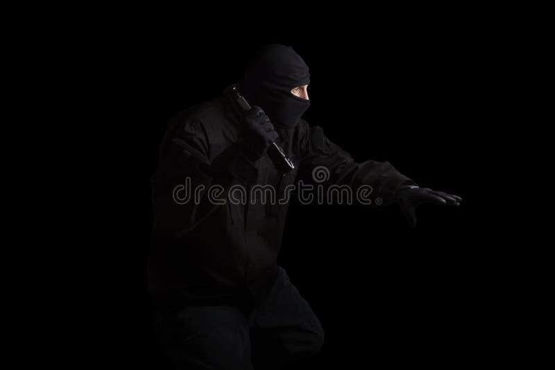 Разбойник. Злодеяние. стоковое фото
