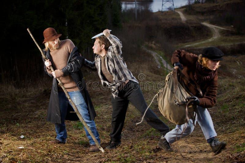 разбойничество стоковое фото