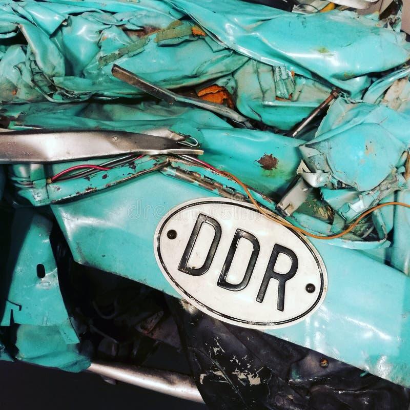 Развалина ГДР Trabant стоковая фотография