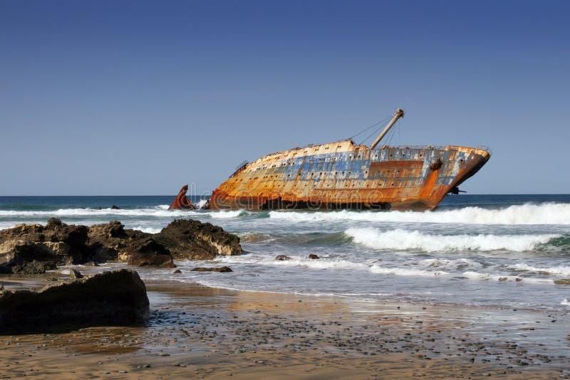 развалина корабля стоковое фото rf