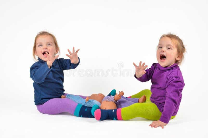 Развевать близнецов стоковое фото