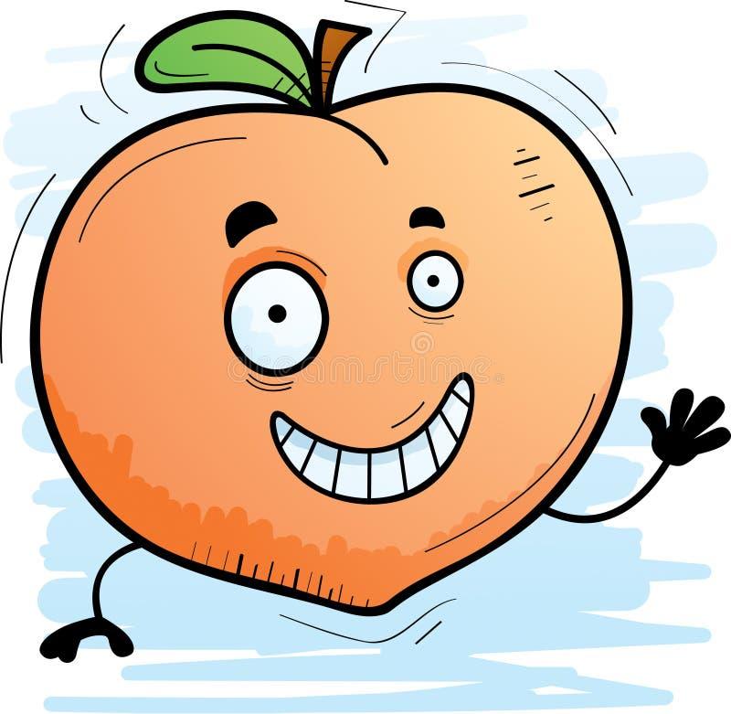картинка злой персик