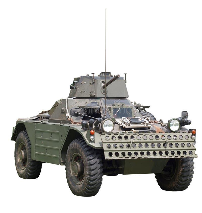 разведчик ferret daimler бронированного автомобиля стоковое изображение