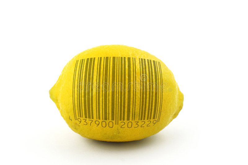 развертка лимона к стоковое изображение