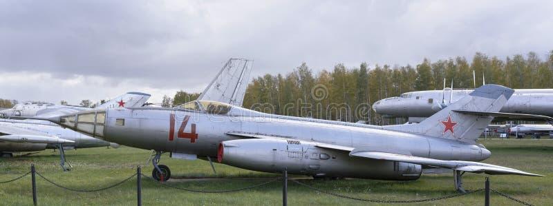 Разведывательный самолет Высот-скорости Yak-27R- (1956) стоковые изображения