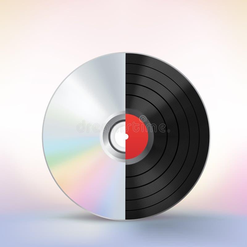 Развитие диска бесплатная иллюстрация
