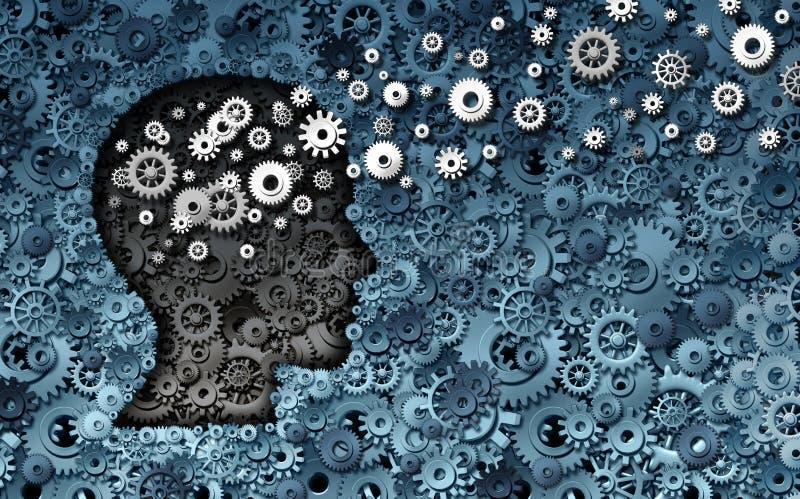 Развитие нейронауки бесплатная иллюстрация