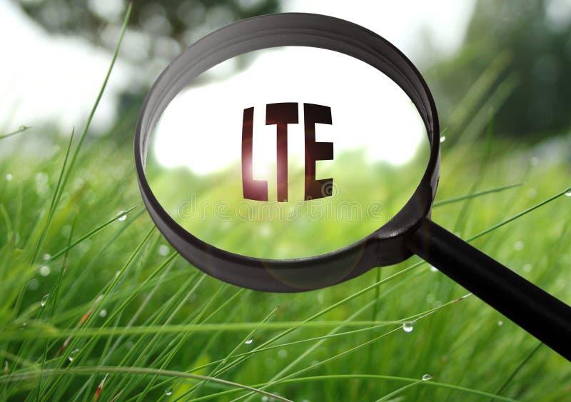 Развитие долгосрочности LTE стоковые фото