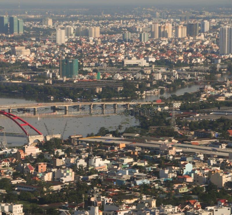 Развитие современного города стоковые фотографии rf