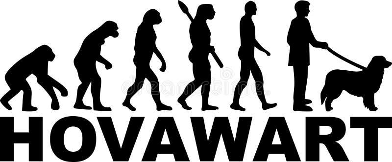Развитие Hovawart с именем бесплатная иллюстрация