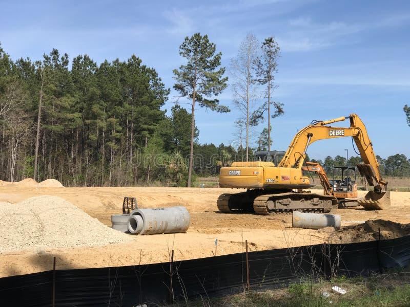 Развитие Summerville Южная Каролина, стоковые фотографии rf