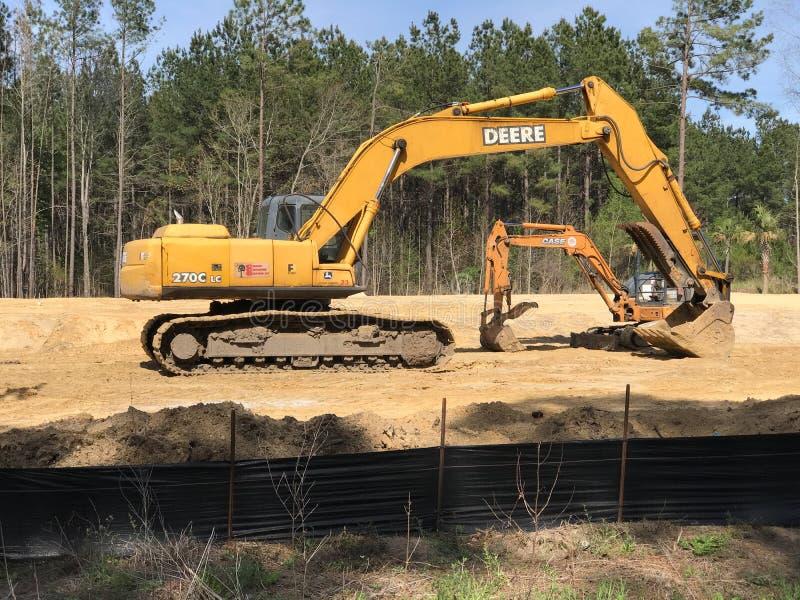 Развитие Summerville Южная Каролина, стоковое фото rf