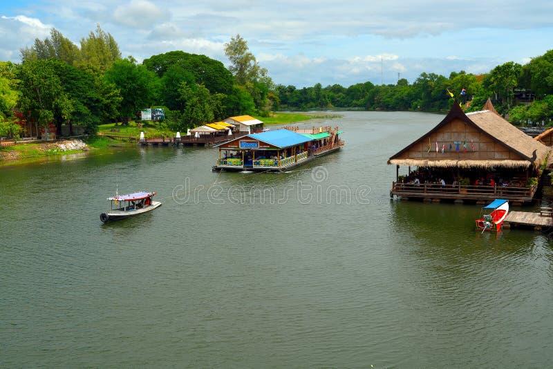 Развлечения на реке Kwai стоковое фото