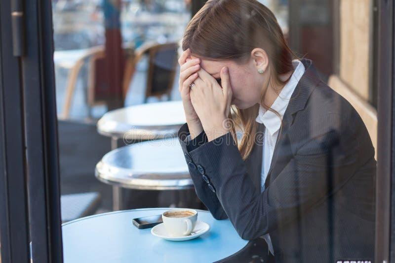 Развод и одиночество стоковая фотография