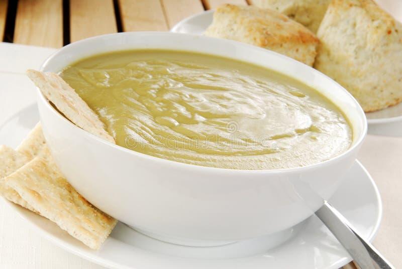 разделение супа гороха стоковая фотография rf
