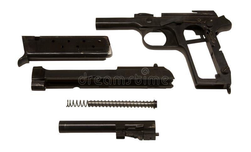 разделяет пистолет стоковая фотография rf