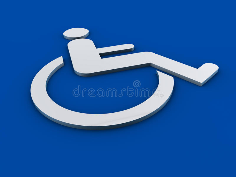 Раздел 508 знака инвалидности иллюстрация вектора