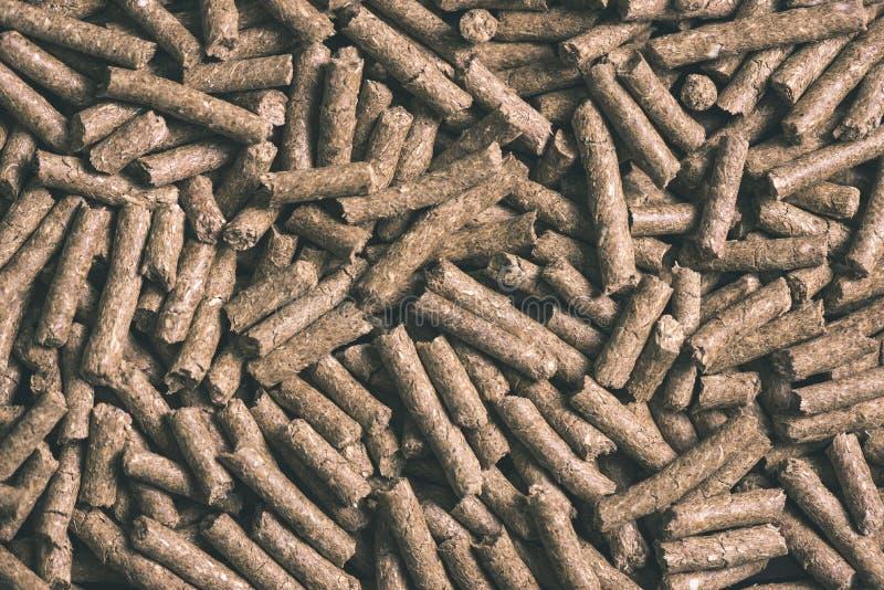 раздробленная текстура предпосылки корма для животных - винтажное влияние фильма стоковое изображение