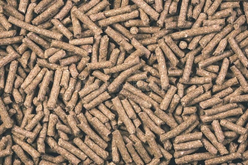 раздробленная текстура предпосылки корма для животных - винтажное влияние фильма стоковое изображение rf