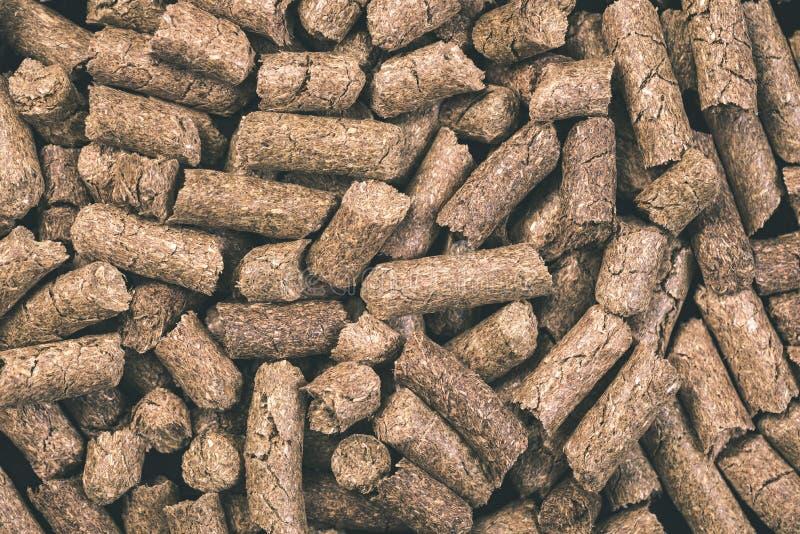 раздробленная текстура предпосылки корма для животных - винтажное влияние фильма стоковые изображения