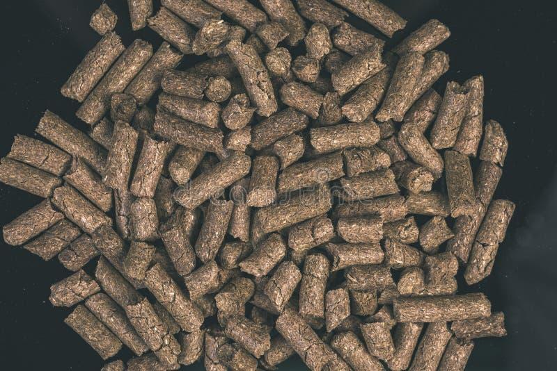 раздробленная текстура предпосылки корма для животных - винтажное влияние фильма стоковая фотография rf