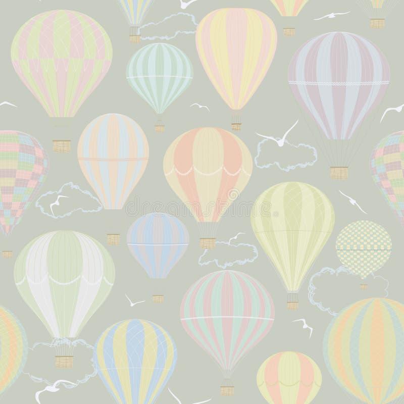 Раздувать воздуха иллюстрация вектора