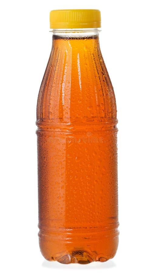 разлейте чай по бутылкам льда стоковое изображение rf