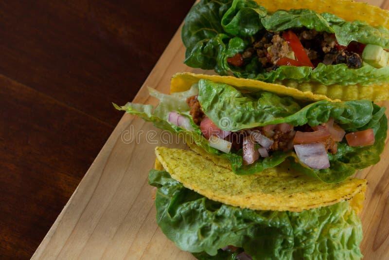 Различная мексиканская еда стоковая фотография