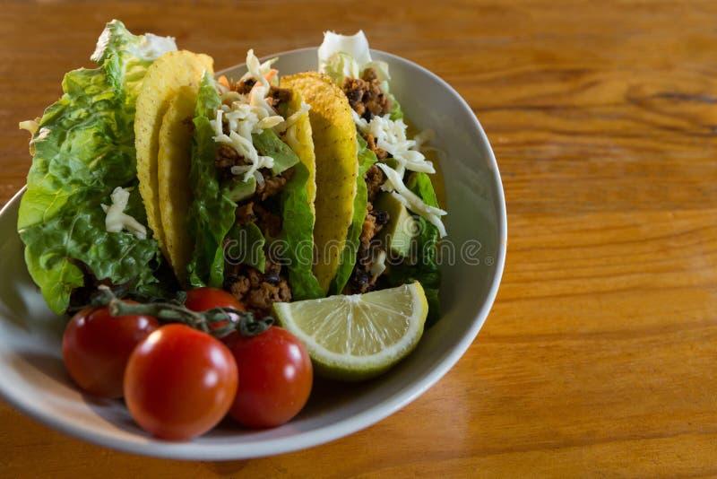 Различная мексиканская еда стоковые фото