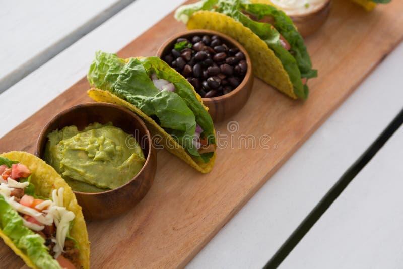 Различная мексиканская еда стоковые изображения