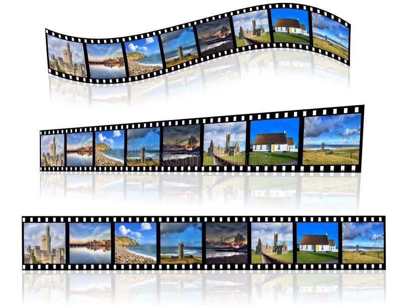 различная перспектива filmstrip стоковое фото