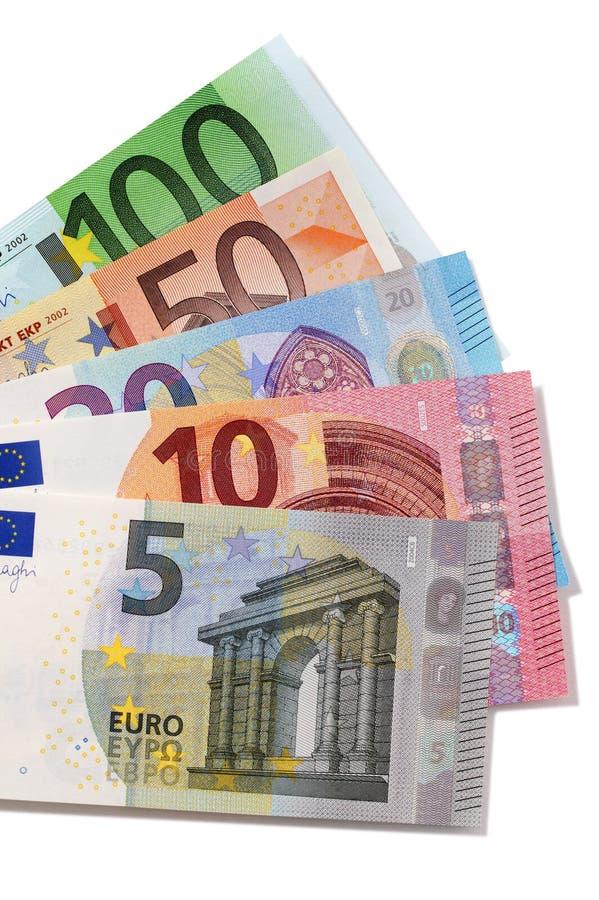 Различные евро стоковые изображения