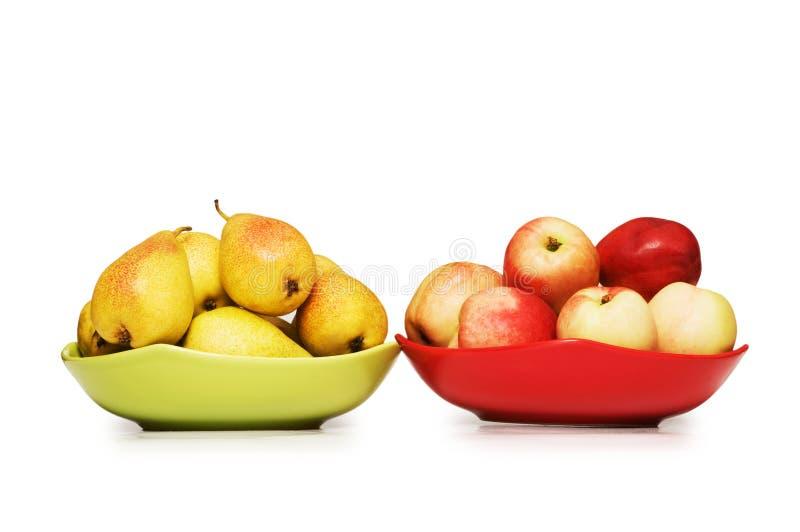 Различные изолированные frutis стоковое изображение rf