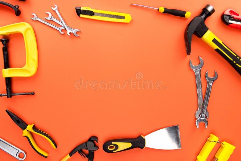 Различные инструменты reparement стоковая фотография rf
