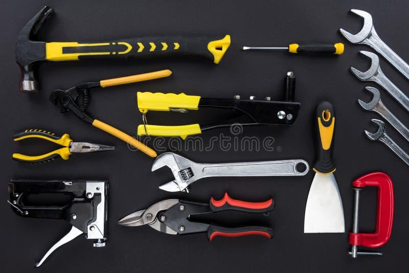 Различные инструменты reparement стоковое фото rf