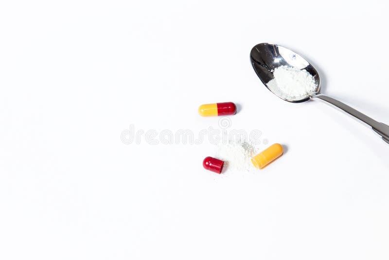 Различные медицинские таблетки для обработки стоковое изображение