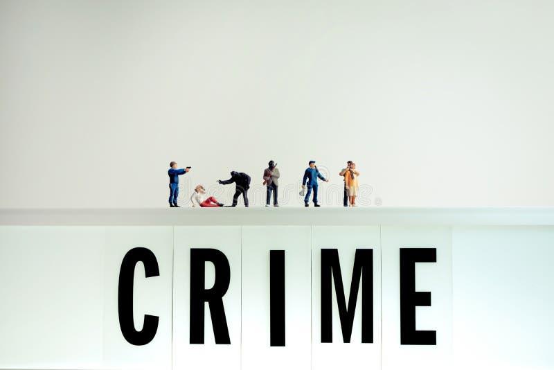 Различные места преступления стоковое фото