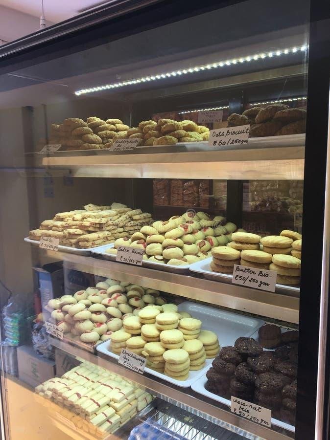 Различные печенья вкусов стоковые фото