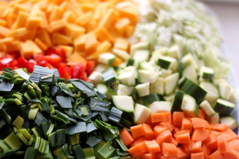 Прерванные овощи стоковая фотография rf