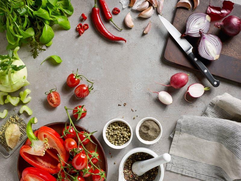 Различные свежие овощи стоковая фотография