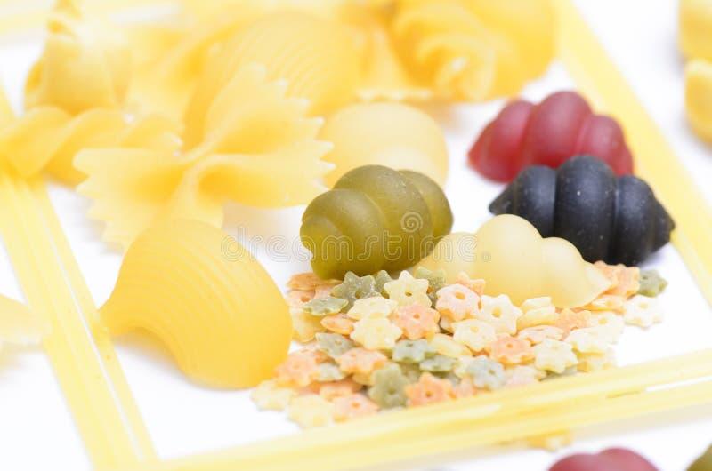 Различные pastas стоковое изображение rf