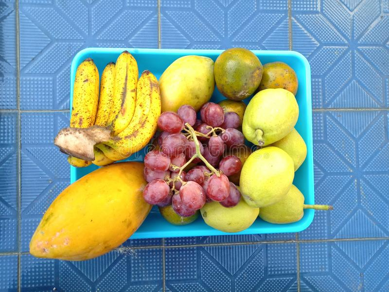 Различный вид плодов стоковая фотография rf