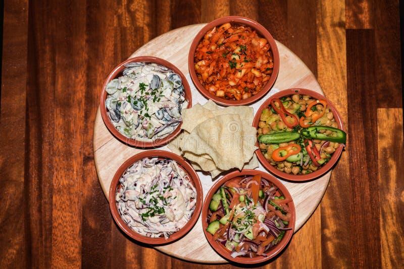 Различный стиль дома салата стоковые изображения