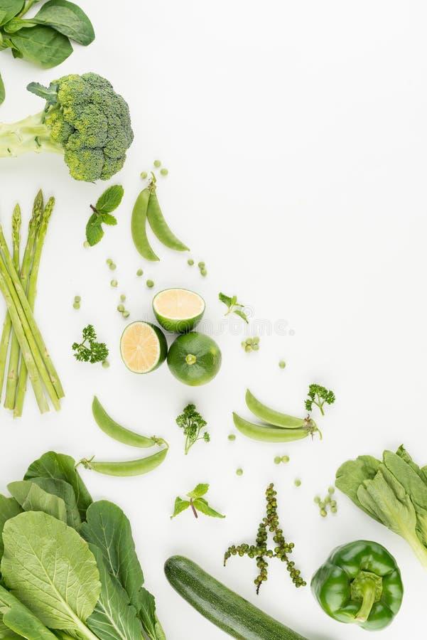 Разнообразие овощей и плодоовощей стоковая фотография