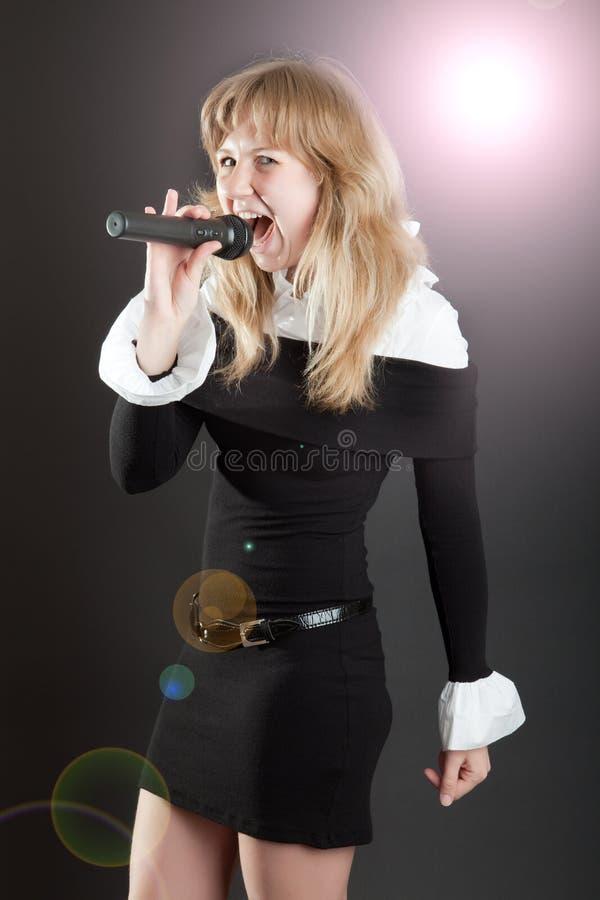 разнообразие певицы стоковая фотография rf