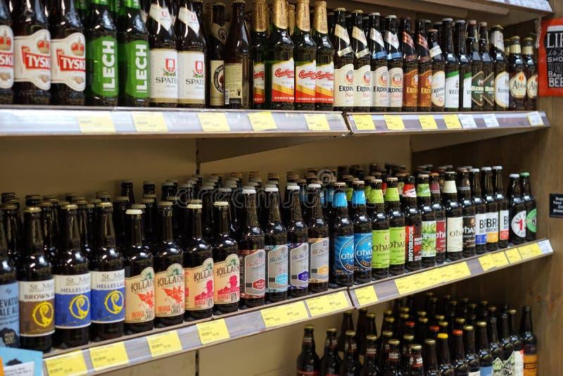 Разнообразие пива в Ирландии стоковые изображения rf