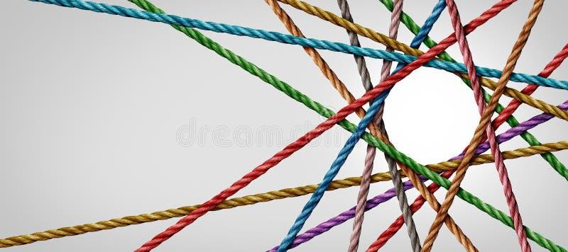 Разнообразие, подключенное к сети стоковая фотография rf