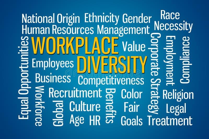 Разнообразие рабочего места иллюстрация вектора